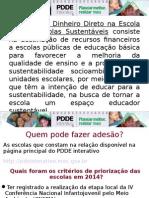 Apresentação Do PDDE Escola Sustentável