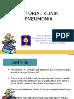 Pneumonia Tutorial Klinik