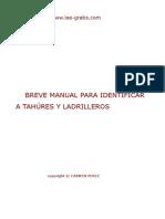Breve Manual Para Identificar a Tahúres y Ladrilleros