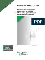 Perdidas Adicionales en Los Conductores de Grandes Intencidades Por Los Efectos Pelicular y de Proximidad