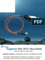 Cygnus Mini ROV Datasheet