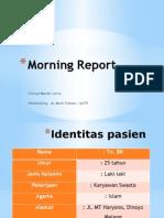 Morning Report BENNY