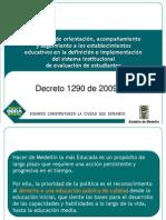 Implementación Decreto 1290 Evaluación