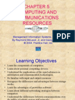 Chapter 5 Computing and Communications Resources
