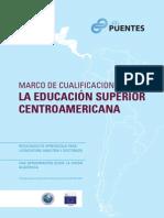 Marco de Cualificaciones para la Educación Superior en Centroamérica