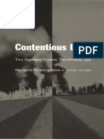 (Latin America Otherwise) Javier Auyero-Contentious Lives_ Two Argentine Women, Two Protests, And the Quest for Recognition-Duke University Press (2003)
