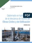 Diplomado en Aplicaciones de la Mecánica de Suelos en Obras Civiles y de Edificación