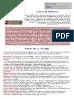 Qué Es La Filosofia, Repaso Para 3º Bd