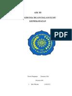 Paradigma Islam Dlam Ilmu Keperawatan