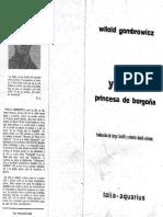 """""""Yvonne, Princesa de Borgaña"""" ,Teatro de Witold Gombrowicz."""
