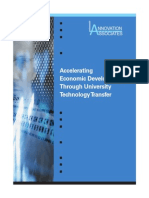 Economic Development via Tech Transfer