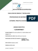 Logaritmo - UNIDAD COMPLETA