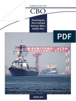 CBO Report on Preserving Forward Presence With a Smaller Fleet