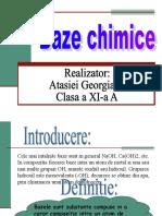 baze chimice