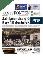 Västfronten 11 mars 2015