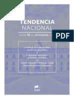 Tendencia Nacional N° 1