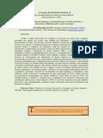 CPA-Ajustado Para Publicar Na NET - Avaliação Institucional - Desafio Da Cultura de Autoavaliação - CPA