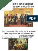 Principales conclusiones del congreso anfictiónico lunes.pptx