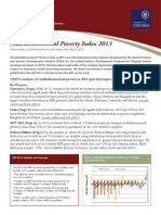 Multidimensional Poverty Index 2013