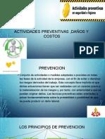 Actividades Preventivas ,Daños y Costos