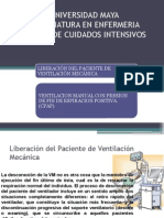 Liberación Del Paciente de Ventilación Mecánica