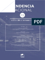 Tendencia Nacional N°3