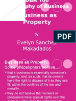 DBA 100 Business as Property