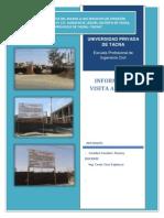 Informe de Visita a Campo Construcciones I