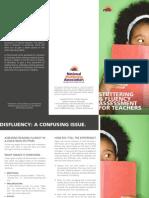 teachers - reading & fluency