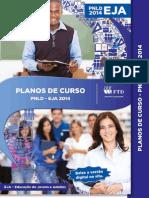 Planos de aulas EJA 2015