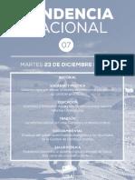 Tendencia Nacional N°7