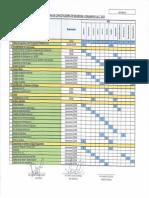 Anexo 1 PASSO Cronograma de Capacitaciones