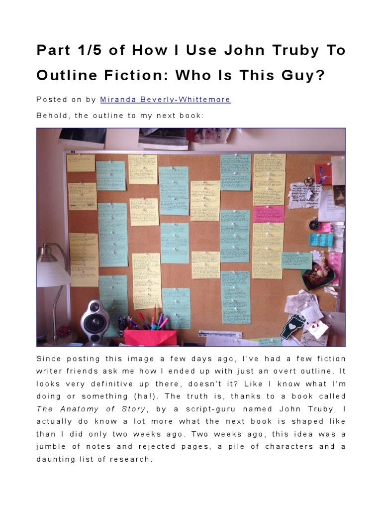 How to Use John Truby in Fiction | Plot (Narrative) | Imagination