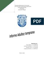 Informe Daniela Adultez Temrprana