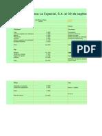 Alan Medina Pérez 11001788 Ordenando en el balance general las cuentas de activo pasivo y capital