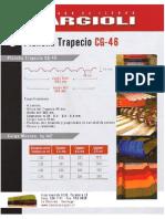 Plancha Trapecio CG-46 Tipo PV-6