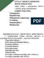 DOKUMENTA U MEĐUNARODNIM ROBNIM TOKOVIMA.ppt