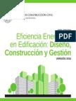 Diplomado en Eficiencia energética en edificación