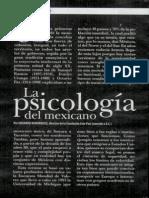 Psiologia Del Mexicano