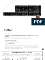 Email Technology life cycle