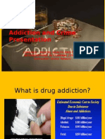 CJHS/410 Week three Addiction and Crime Presentation
