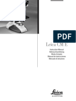 Leica CME Manual