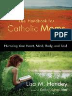 Handbook for Catholic Moms - excerpt