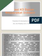 Orentasi k3