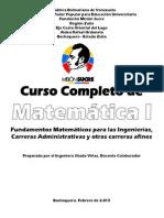matematica 1  curso completo