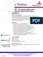 Developing Microsoft SharePoint Server 2013 Core Solutions