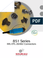 Souriau Connector 853 06RC8 3AP50