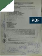 Acta firmada en Andahuaylas