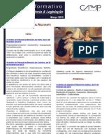 Newsletter Intercalar da CAMMP de Março de 2015