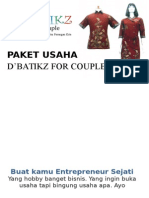 Paket Usaha D'Batikz for Couple
